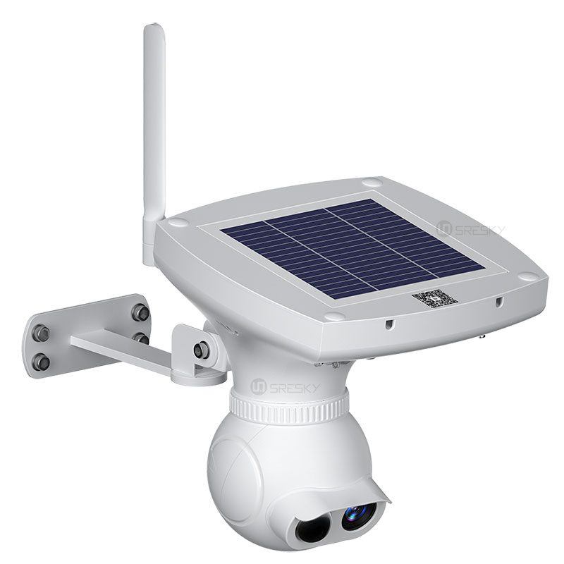 all in one solar street light with camera