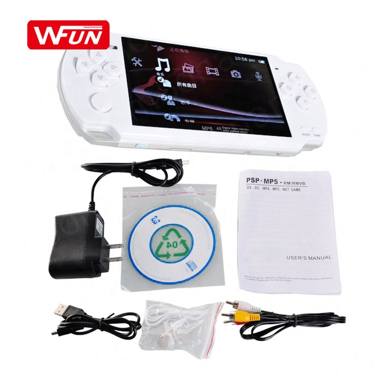 Video Game 8GB X6 Handheld Game Player