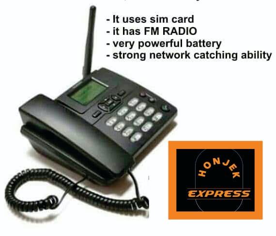 Fixed Wireless hauwei Desktop Phone