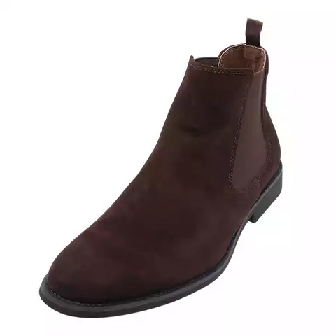 Italian Stylish Men Ankle Suede Leader Boot