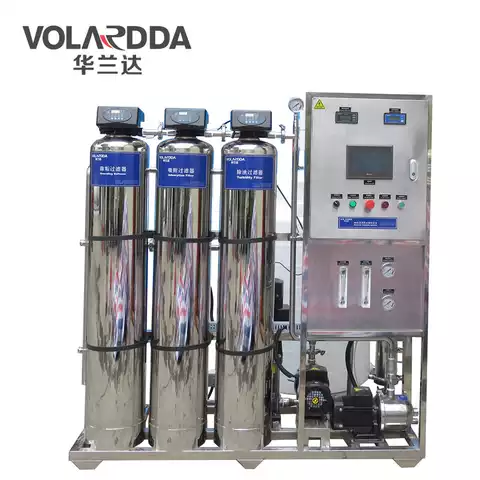 250LPH Water Purifier For Domestic Water Treatment Reverse Osmosis System