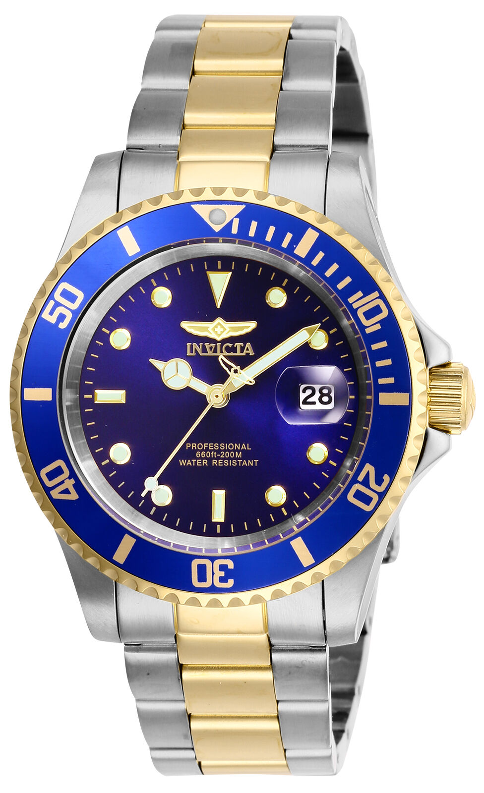 Invicta Men's Pro Diver Stainless Steel 40MM Watch- Choose Color (26970 - 26975