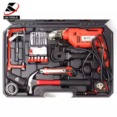 German Design 71 pcs with Electric Hand drill for Professional Craft Man