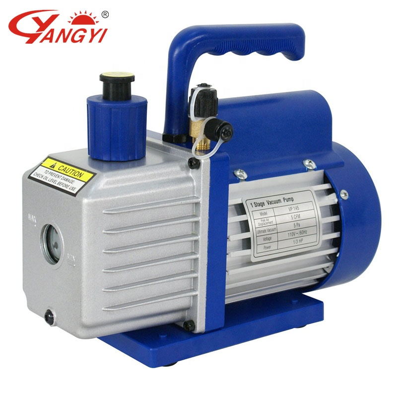 Air condition vacuum pump 5CFM Single stage air vacuum pump VP145