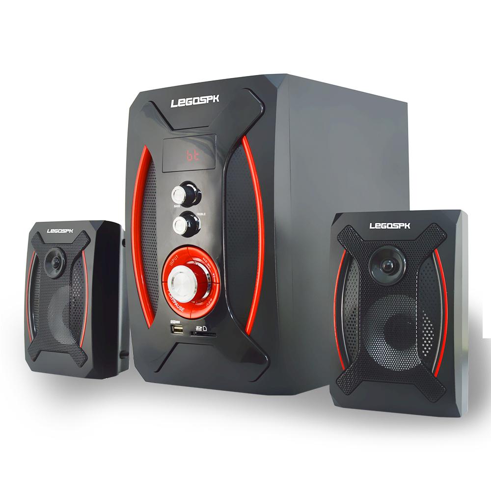 Active computer speaker 2.1 multimedia speaker super bass speaker