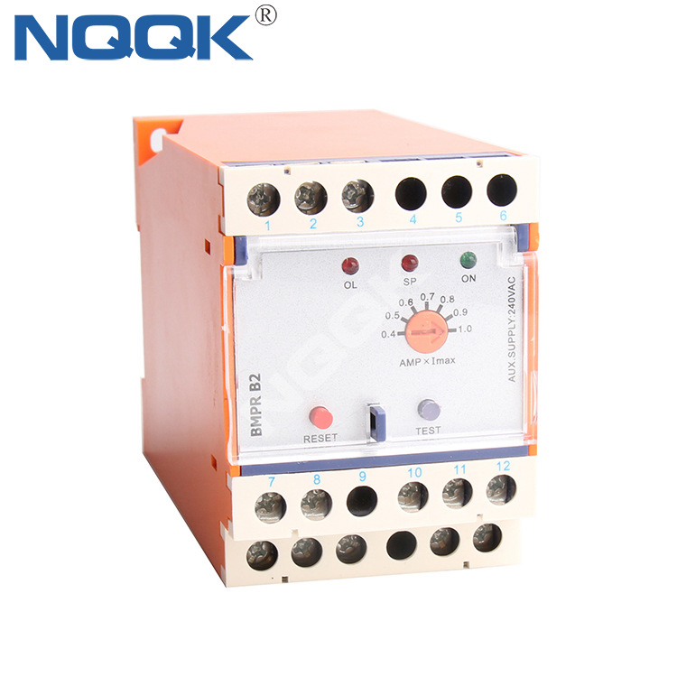 BMPR B2 motor pump protection relay voltage monitoring relays