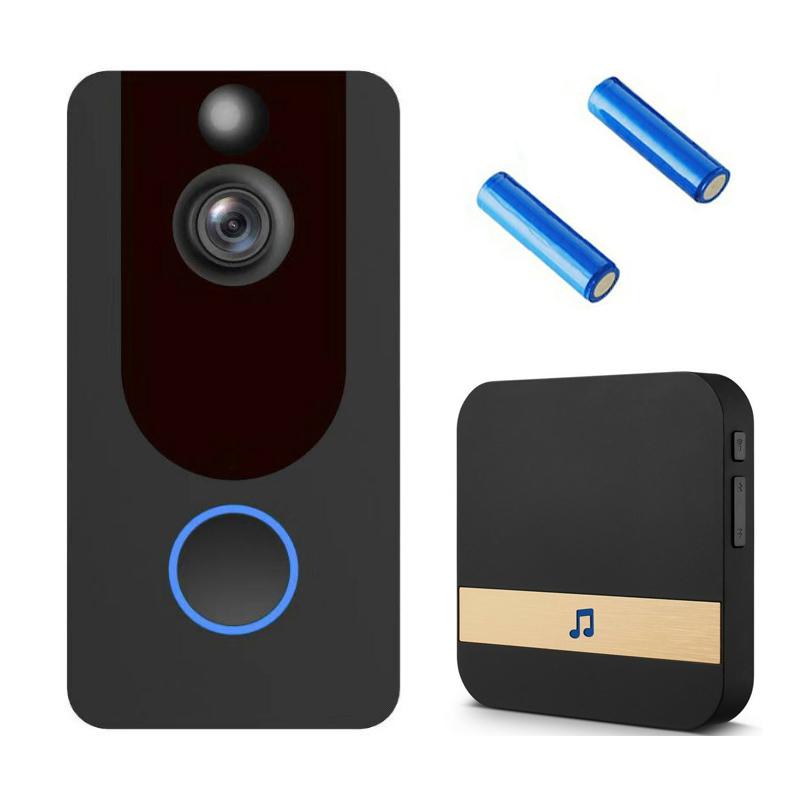 new V7 Video Doorbell wifi 1080P Home smart Security Camera door bell wireless doorbell