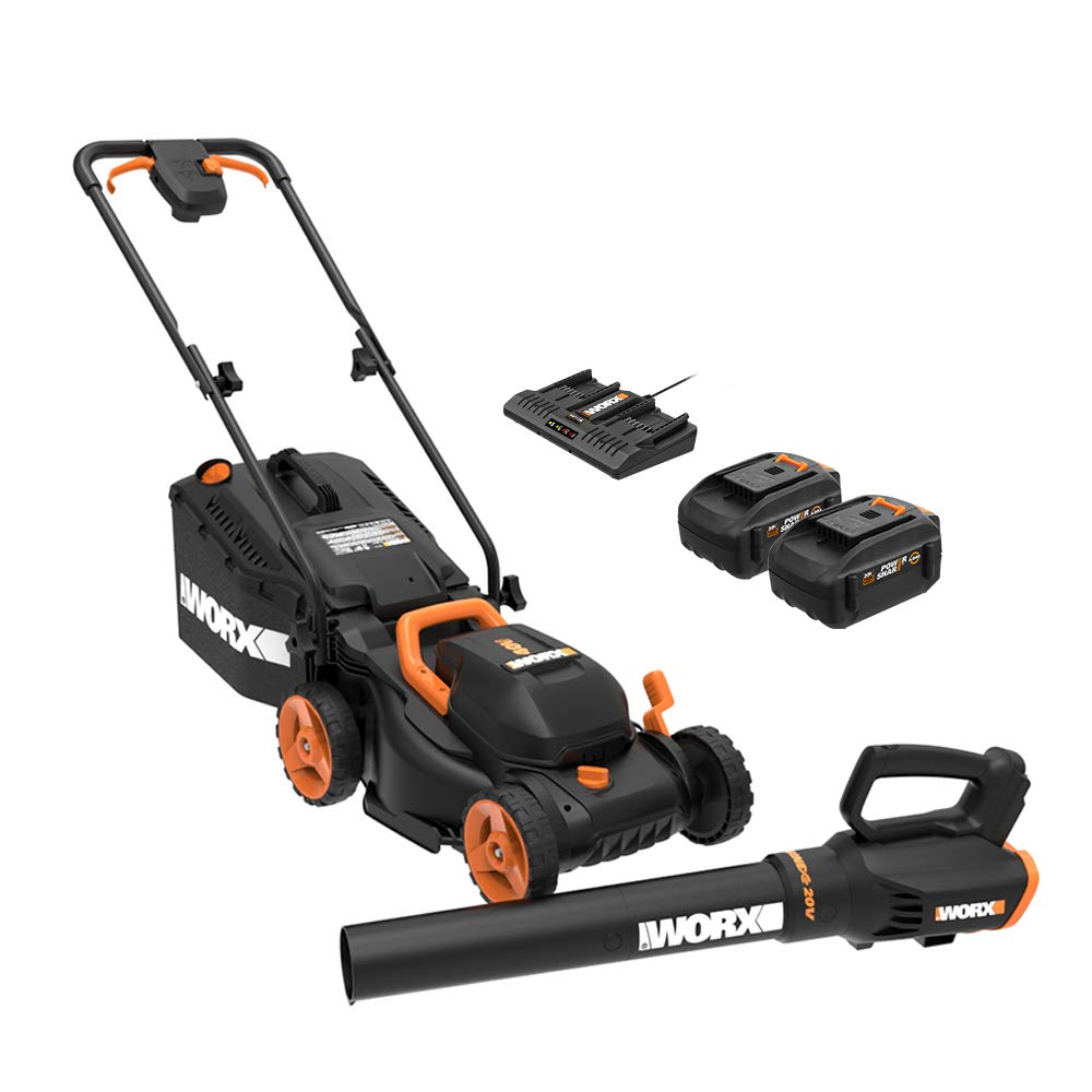 Cordless Lawn Mover and WG547.9