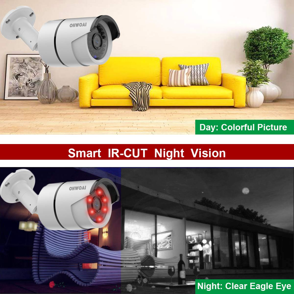 8ch Wireless Security Camera System