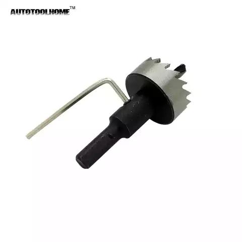 12mm-100mm HSS Hole Saw Cutter Tooth Steels metal Drill Bit