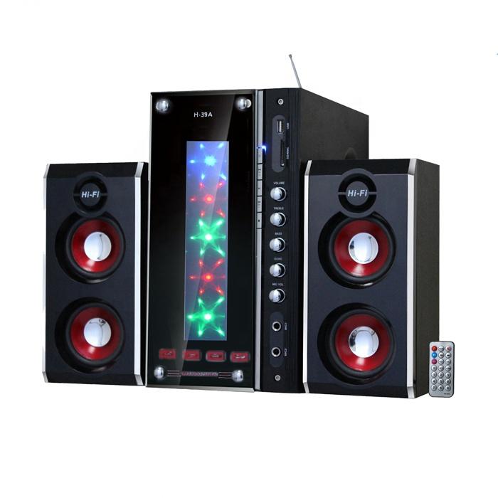 2.1 Home Theatre Speaker System Portable Speaker