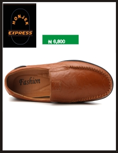 mens casual High Quality Mocassin  Leather Shoe