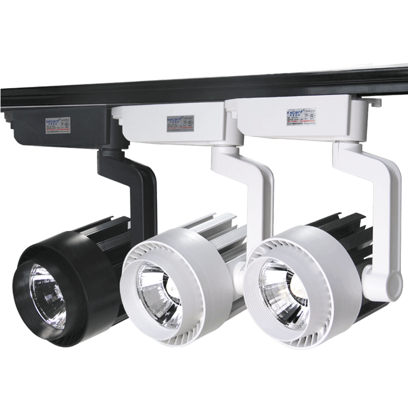 led track light fixture 20w led track spotlight lighting system focus suit modern clothing jewellery