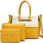 3 in 1 fashion ladies leather bag