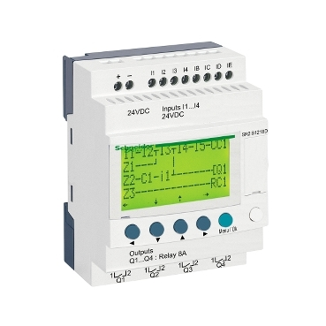 Smart Relay - Zelio Logic SR2/SR3 For simple automation systems up to 40 I/O's