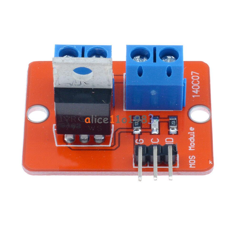 5PCS MOSFET Button IRF520 MOSFET Driver Module