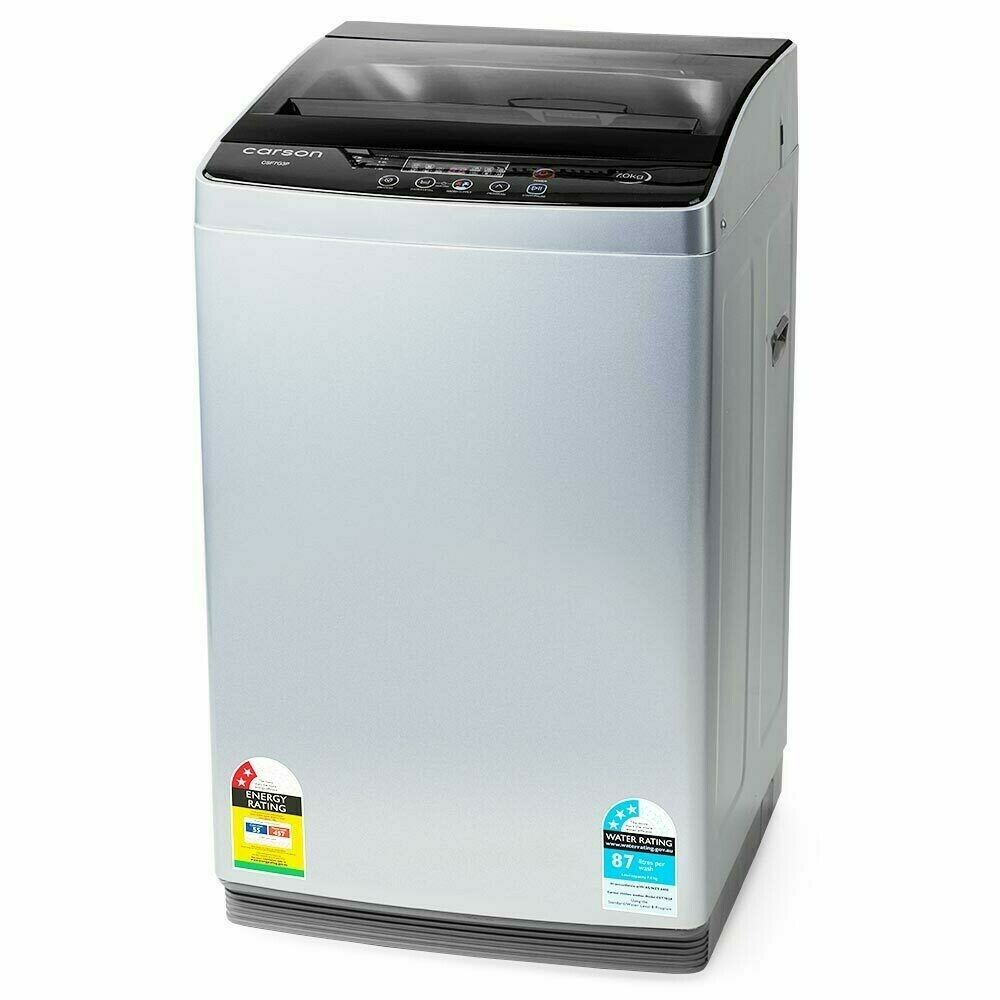 Generic Washing Machine 7kg Platinum Automatic Top Load Home Dry Wash
