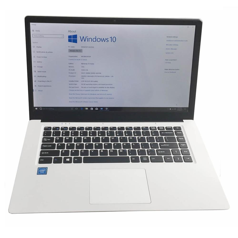 Quad core core intel N3450 nch intel CPU 6gb ram computer laptop
