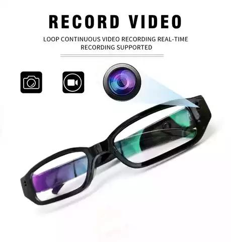 HD 1080P Hidden Spy Wireless Invisible Video Glasses CCTV Camera
