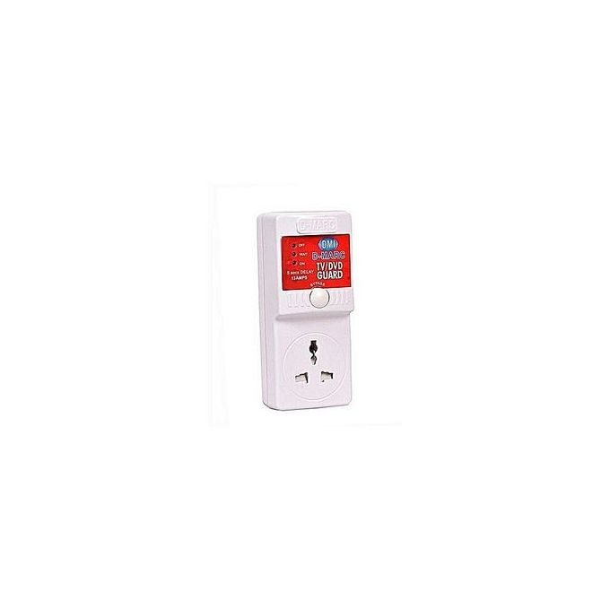 D-Marc TV Guide, Protect All Electronics , POWER SURGE PROTECTOR