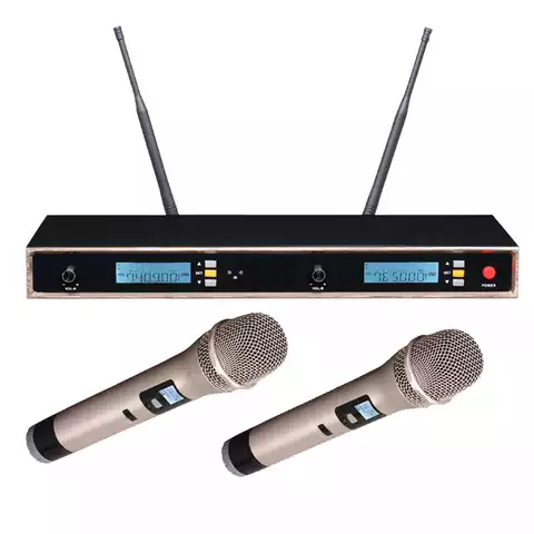 DJ VHF Wireless Microphone Set