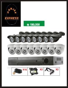 16ch real time CCTV camera H.264 DVR security camera system