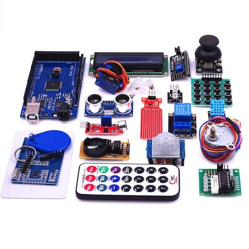 Mega 2560 R3 Starter Kit Motor Servo Ultrasonic Ranging Relay LCD For Arduino