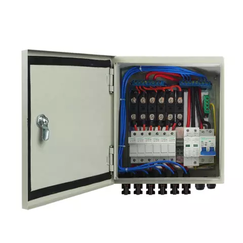 12A 6 String Solar PV Combiner