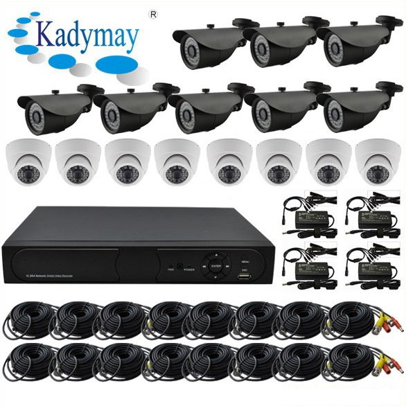 16 ch Sony Chipset Ahd Camera Kits System
