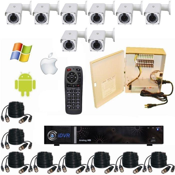 CCTV DVR/CAMERALS