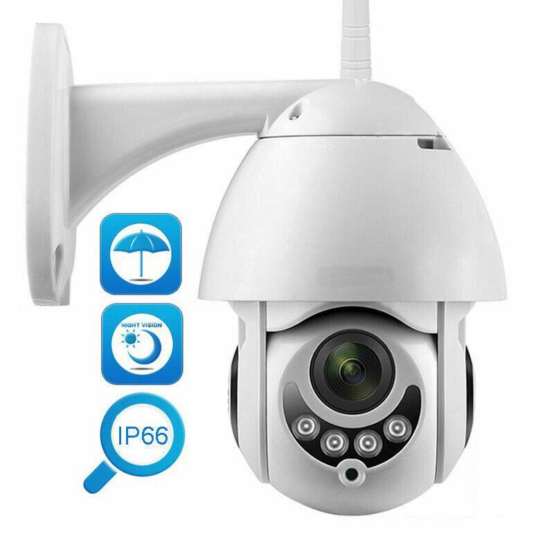 Generic Wireless Outdoor HD 1080P 2MP PTZ WIFI IP IR Camera Night Vision Home Security