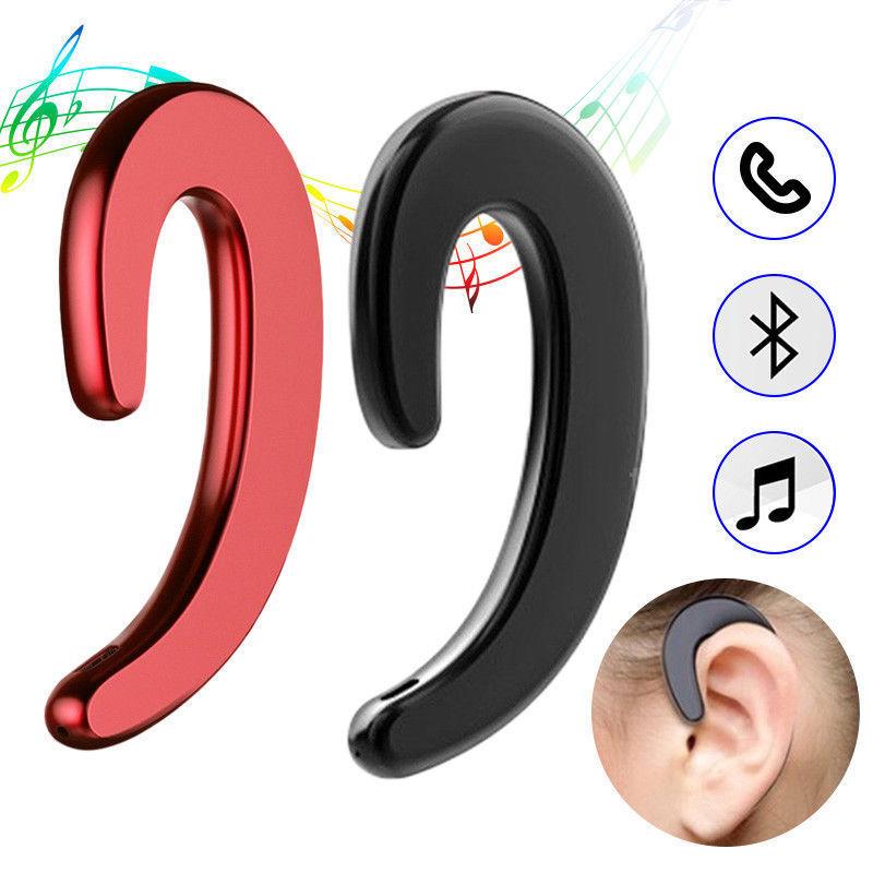 Bluetooth Bone Conduction Headphone Wireless Earphone Headsets For Outdoor Sport