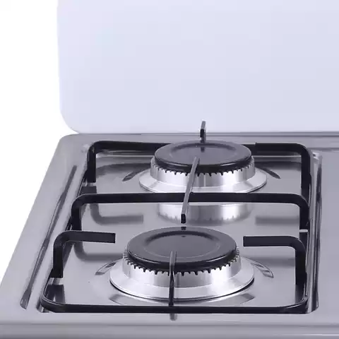 4-Burner Manual Ignition Table Top Gas Cooker