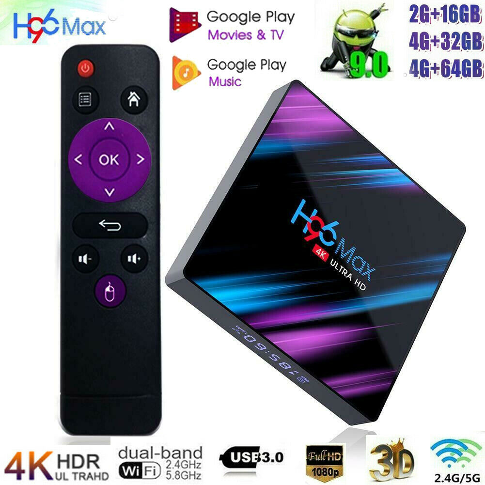 Android 9.0 Smart TV Media Player 4Gb+64