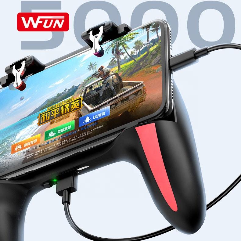 Mobile Smartphone Controller Triggers Gaming Joystick For PUBG Gamepad