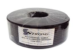 100mtrs coaxial cable