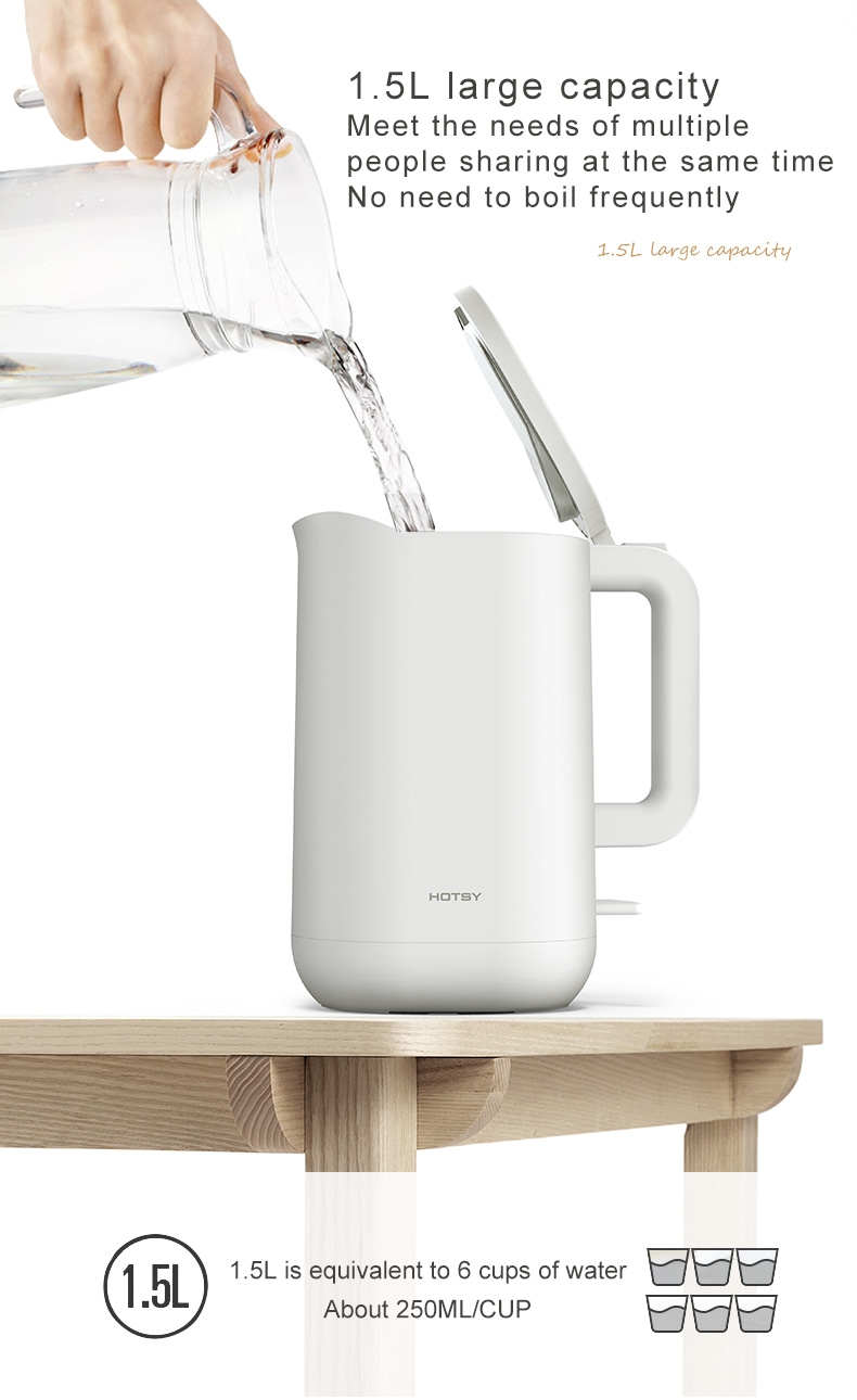 2.0 Liters Electric Glass Kettle