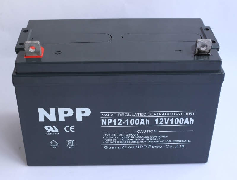 100Ah AGM NPP battery