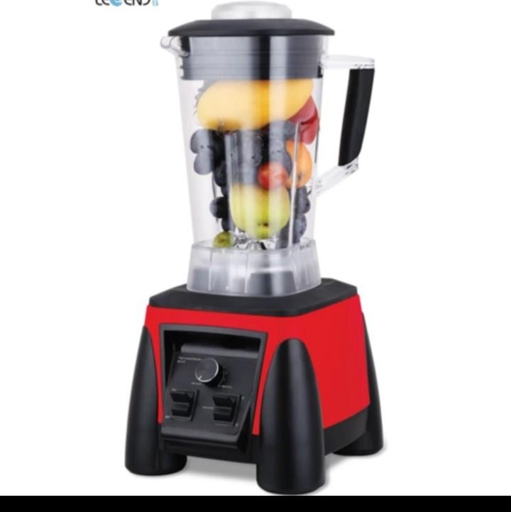 1500W Professional Food Blender with High Speed 30000 rpm Motor & 2L Tritan Plastic BPA-Free Jug