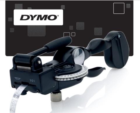 ME1011 DYMO manual metal letter tape embosser
