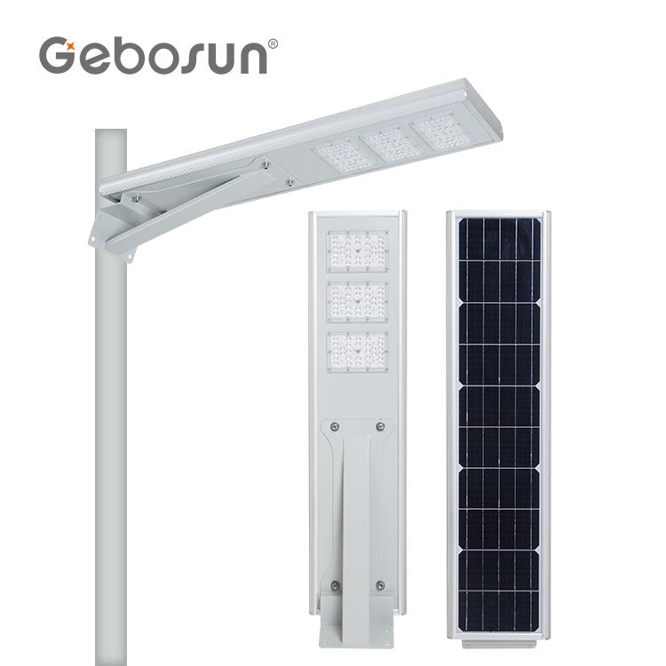 High Power Outdoor Waterproof Ip65 60 watt LED All In One Solar Street Light