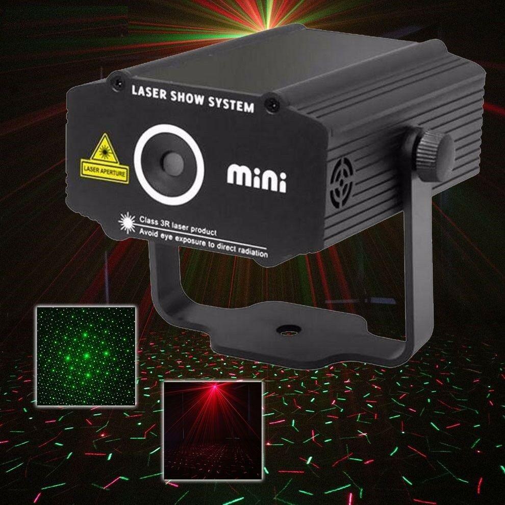 Laser Projector Stage Lighting Effect Star Light DJ Club Bar Party Show Lights
