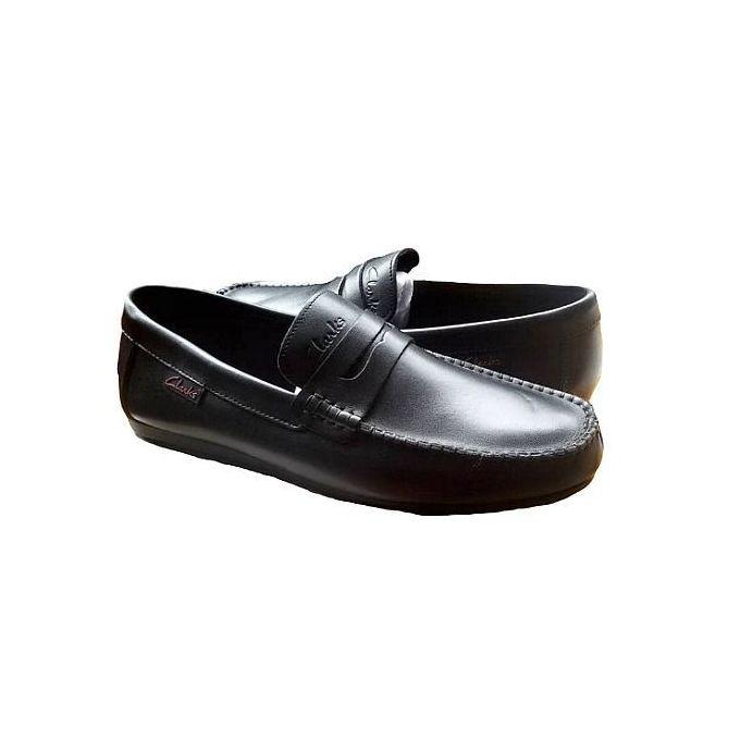 Classic Black Men Loafers Full Shoe
