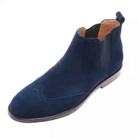 Hight Increasing Leather Customer Casual Boot for Men