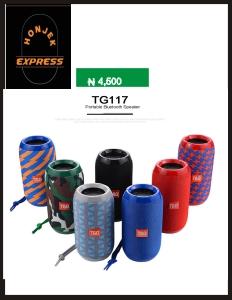 Portable Speaker Wireless Bluetooth Speakers TG117 Soundbar Outdoor Sports Waterproof sound
