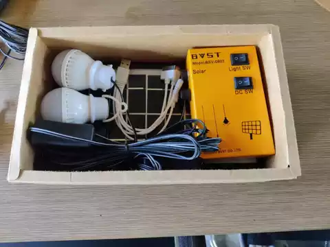 HOME PORTABLE SOLAR LIGHTING SYSTEM