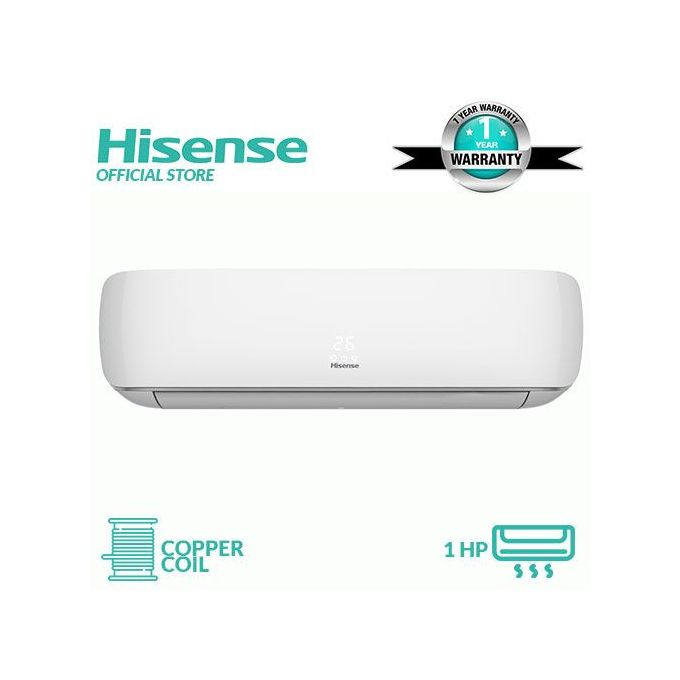 Hisense 1HP (Copper Coil) Split Air Conditioner