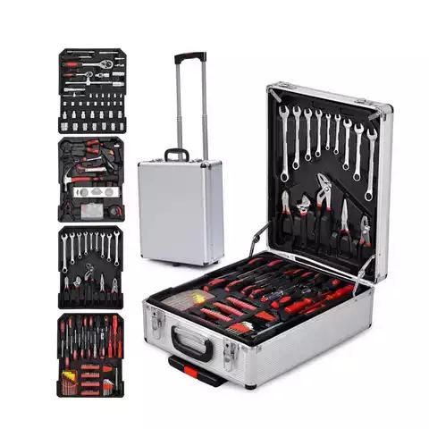 925 Pcs Hand Tools Set with Alluminium Case