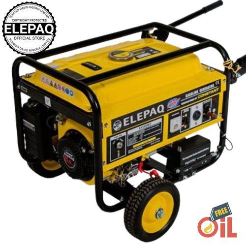 Elepaq 4.5KVA Key Starter Gasoline Generator (Constant)