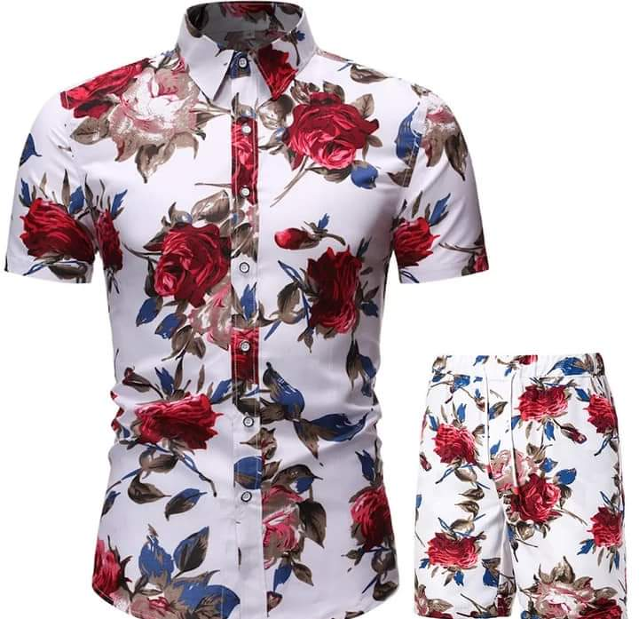 Casual Short Up and Down Men's Wear
